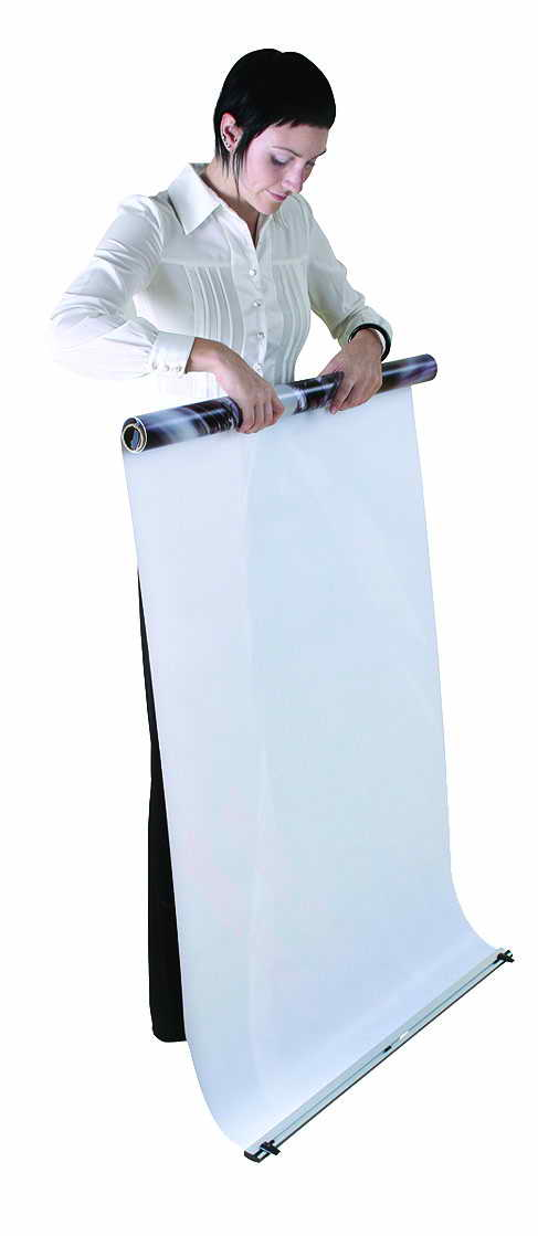 Banner Stand and vinyl banner with carry case